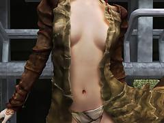 Incomparable alien vixens enjoy similar off their hot bodies