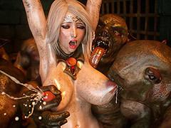 Dirty monsters comprehend beauties - Elf slave 4 Cross Incidental by Jared999d