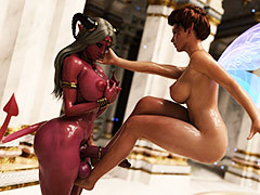 Busty elves live the life of Riley filthy pleasures - Broken Interlude by SP3D (SquarePeg3D)