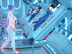 Elly is a young employee who works in a clone factory - System Failure by Lord Kvento