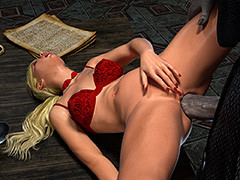 Blonde tries anal from old dick - Knight Elayne, Beauty and the Celebrant by Hibbli3d (Hibbli, Adara)