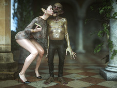 Hot babe enjoy awe-inspiring moments with a monster cock - Kobold slave 6 Hallow together with Lust by Jared999d