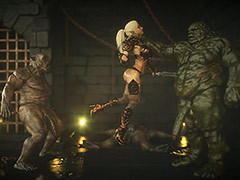 Nasty dungeons with monsters cocks - Elf slave 7 Double select by Jared999d