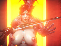 Horny demon destroys pussies with an increment of assholes - Elf slave 8 The final by Jared999d