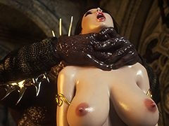Monster proceeded to stick his deterrent inner her twat - Karen and Bulgan the Impaler by Jared999d
