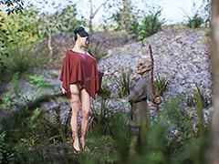 Goblin enjoys hot elf - Elf slave 2 by Jared999d