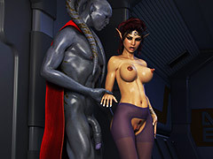 Dealings with various sci-fi characters - Elven Desires Distress Signal 2 by Hitman X3Z